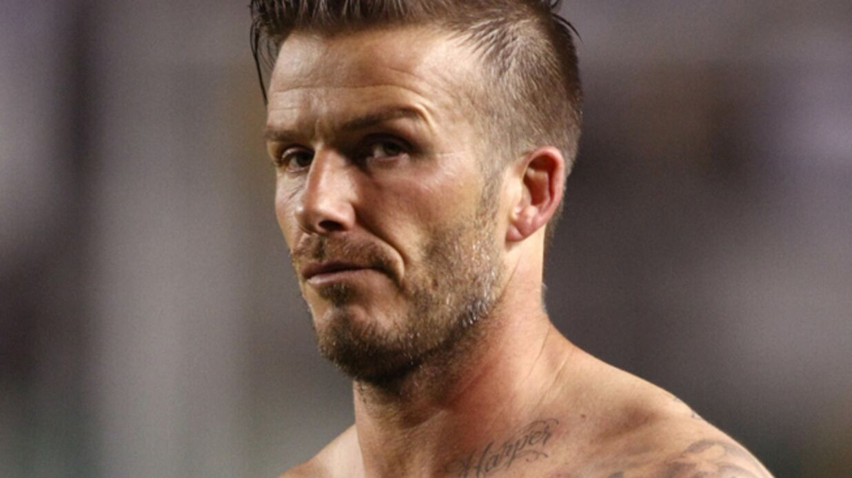 PHOTOS Le nouveau tatouage de David Beckham en l'honneur de Victoria
