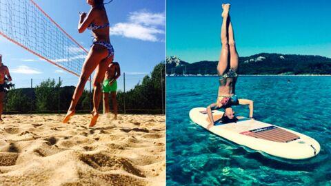 PHOTOS Les vacances sportives de Laury Thilleman