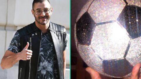 Karim Benzema s'offre un ballon en diamants d'une valeur de 250 000 dollars