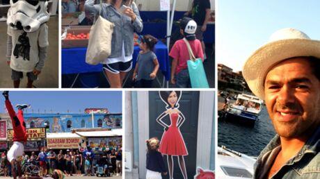 Jamel Debbouze dévoile des photos de Melissa Theuriau et de leurs enfants en vacances