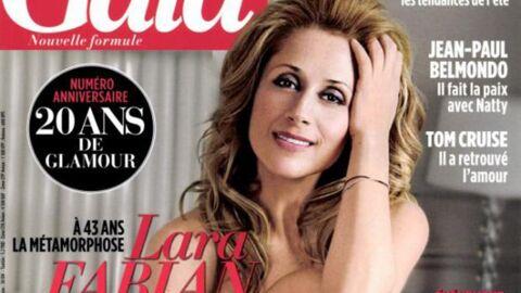 Nue dans Gala, Lara Fabian devient la risée des internets