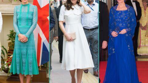 DIAPO Les prix des tenues portées par Kate Middleton en Inde: du très au (beaucoup) moins abordable