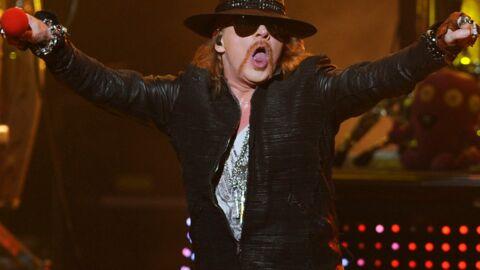 Axl Rose chanteur d'AC/DC pour une série de concerts