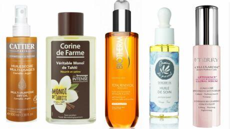 La sélection printemps-été 2016 de la rédaction: des huiles beauté pour le visage, le corps et les cheveux