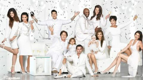 PHOTO Kanye West banni de la photo de Noël des Kardashian