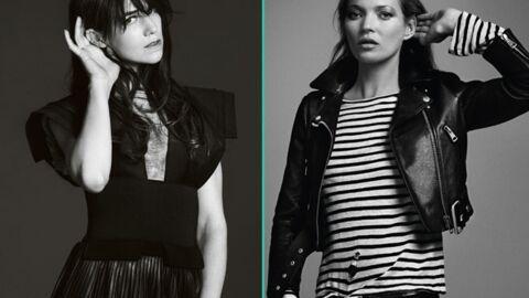 PHOTOS Charlotte Gainsbourg et Kate Moss: un calendrier pour la bonne cause