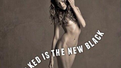 Solweig Rediger-Lizlow pose entièrement nue pour une jeune photographe