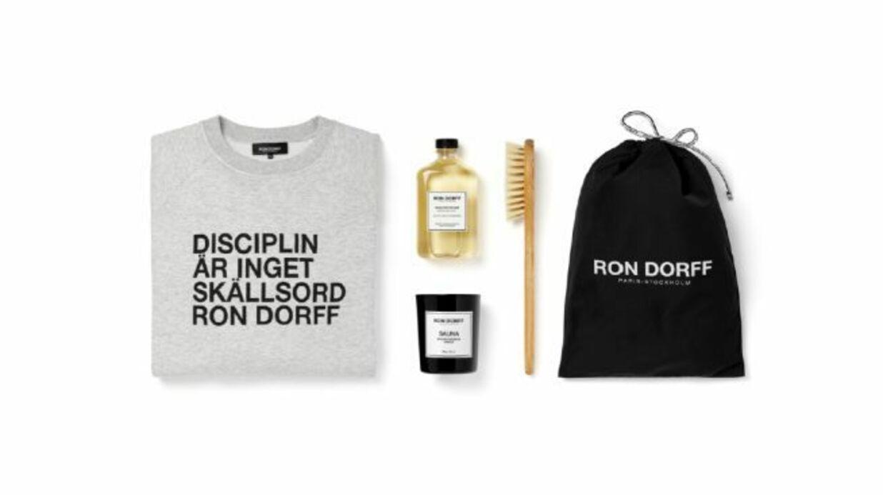 Un kit dédié au corps et au réconfort par Ron Dorff