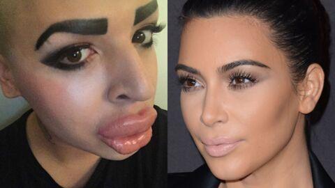 PHOTOS Un fan dépense 190 000 euros pour ressembler à Kim Kardashian: c'est raté