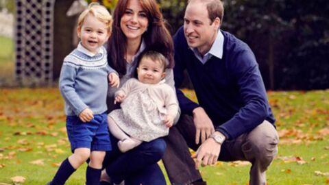 Une nouvelle photo de famille craquante de William et Kate avec George et Charlotte
