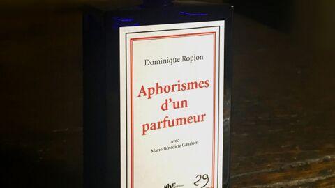 Dominique Ropion: le premier livre d'un parfumeur mis en flacon