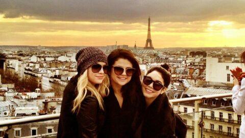 PHOTOS Selena Gomez et ses copines s'éclatent à Paris