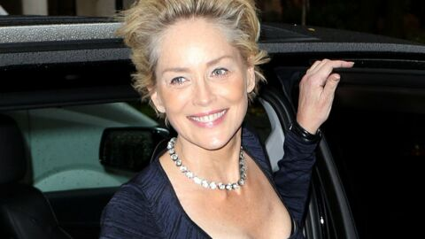 PHOTO Sharon Stone pose avec son fils Roan, un futur tombeur