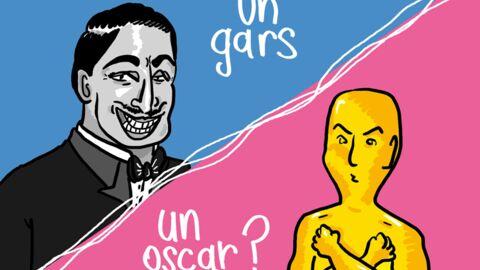 Louison a croqué… Jean Dujardin en route pour l'Oscar?