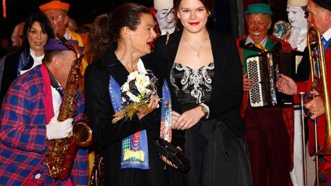 DIAPO Stéphanie de Monaco complice avec sa fille Camille au Festival du Cirque de Monte-Carlo