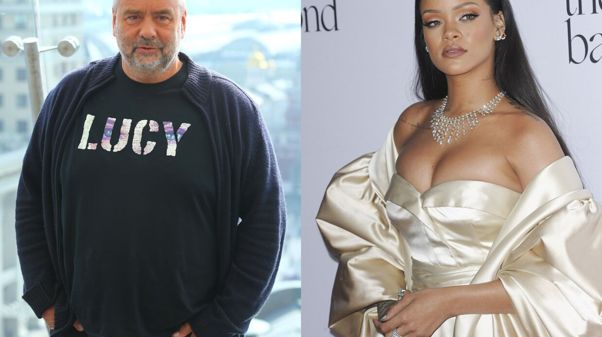 PHOTO Luc Besson bluffé par Rihanna sur le film Vale­rian