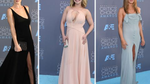PHOTOS Critics' choice : Hayden Panettiere ultra décolletée, Jennifer Aniston en robe fendue