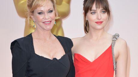 Cinquante nuances de Grey: Melanie Griffith ne peut pas regarder les scènes de sexe de sa fille