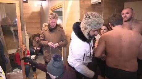 VIDEO Cyril Hanouna montre les fesses de Benjamin Castaldi en lui baissant son caleçon