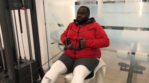 PHOTO Issa Doumbia a encore perdu beaucoup de poids et il le prouve