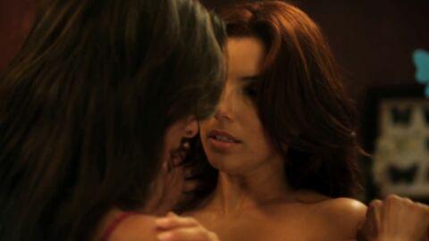 VIDEO Eva Longoria: sa scène hot avec une femme