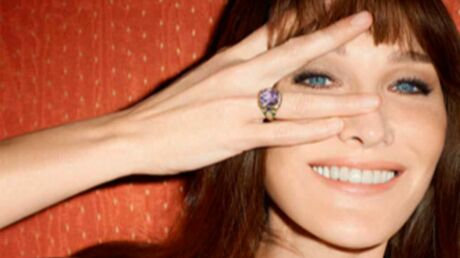 DIAPO Carla Bruni, rayonnante égérie pour la marque de luxe Bulgari