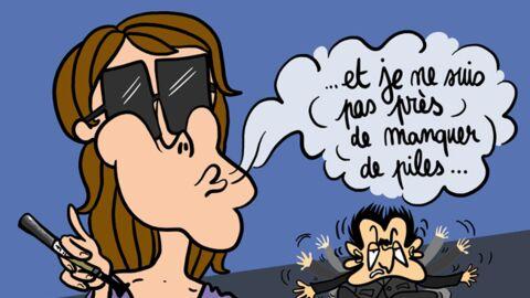 Louison a croqué… Carla Bruni adore la cigarette électronique