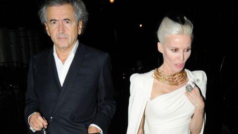 Bernard-Henri Lévy et Daphne Guinness ensemble à un dîner