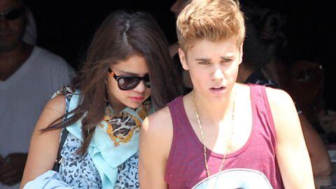 PHOTOS Justin Bieber et Selena Gomez s'envoient en l'air