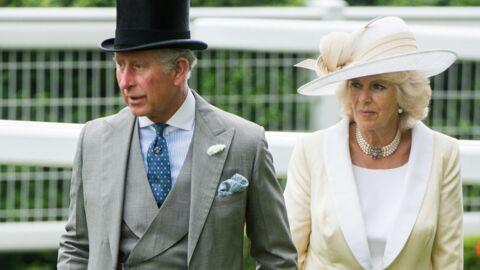 DIAPO Charles et Camilla tout en sobriété au milieu de chapeaux extravagants!