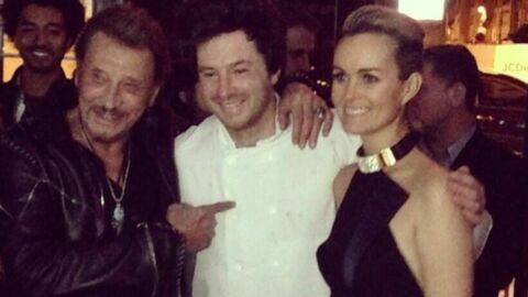 DIAPO Jean Imbert, top chef des 70 ans de Johnny Hallyday