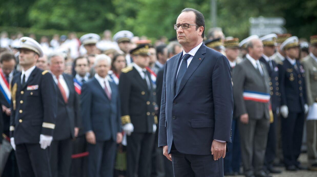 PHOTOS Julie Gayet apparaît pour la première fois lors d'un déplacement officiel de François Hollande