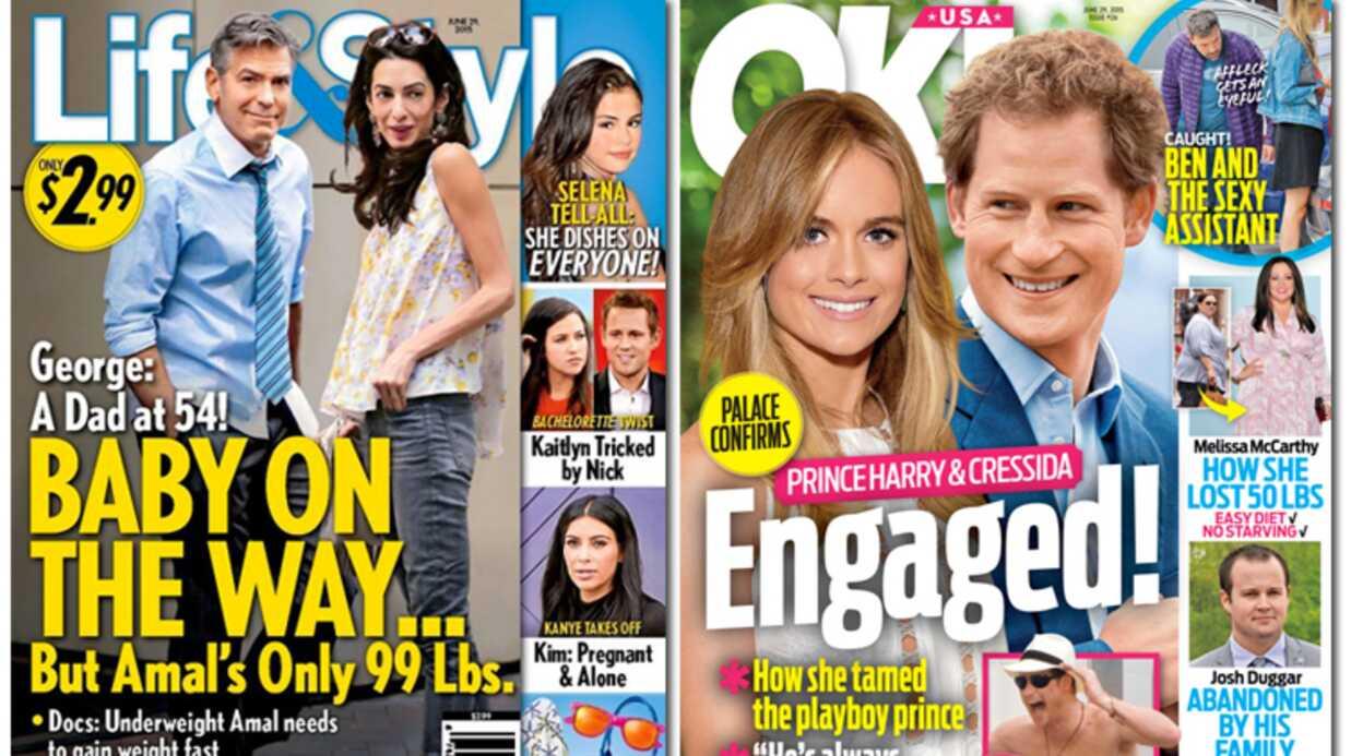 En direct des US: Ben Affleck et Jennifer Garner filent vers le divorce, Clooney va être papa