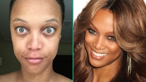PHOTO Tyra Banks méconnaissable sur un selfie sans maquillage
