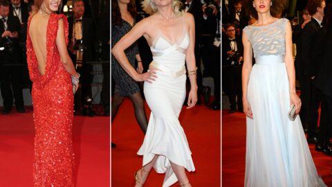 PHOTOS Cécile Cassel ultra sexy pour une montée des marches glamour de Mon Roi