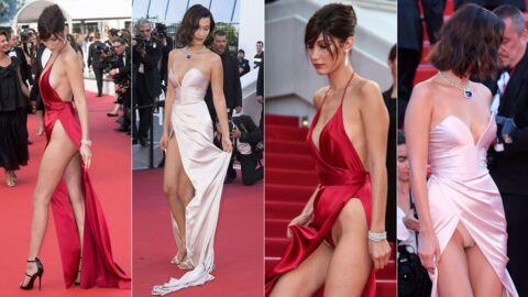PHOTOS Festival de Cannes 2017: comme un remake de l'an dernier, Bella Hadid montre sa culotte