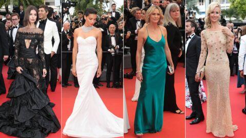 PHOTOS Cannes 2017: Emily Ratajkowski à moitié nue, Lady Victoria Hervey dévoile sa poitrine