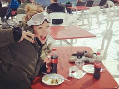 Lorie s'éclate au ski