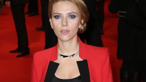 PHOTOS Scarlett Johansson rayonnante à Paris pour Captain America