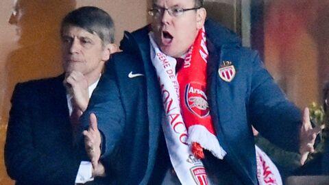 PHOTOS Le prince Albert déchaîné pour le match entre l'AS Monaco et Arsenal