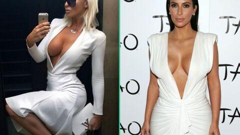 DIAPO Kim Kardashian: une chanteuse serbe l'accuse de voler son look, preuves à l'appui!