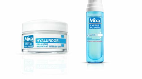 Mixa  Hyalurogel: le nouveau soin des peaux sensibles et sèches