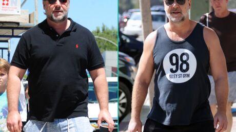 PHOTOS Russell Crowe a perdu 25 kilos en six mois