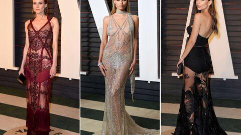 DIAPO Diane Kruger, Emily Ratajkowski… très sexy en robes transparentes: elles n'ont rien à cacher