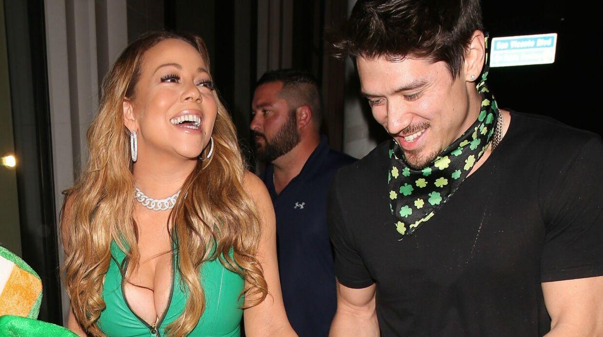 PHOTOS Mariah Carey très décolletée pour fêter la Saint-Patrick