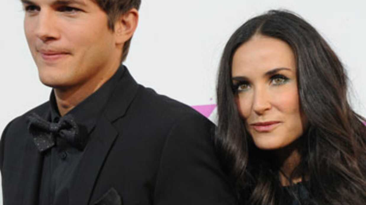 Demi Moore divorce d'Ashton Kutcher
