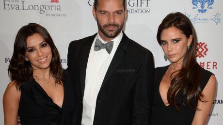 PHOTOS Eva Longoria, Ricky Martin et Victoria Beckham: trio de choc pour la bonne cause