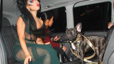 PHOTOS Lady Gaga au bowling en nuisette