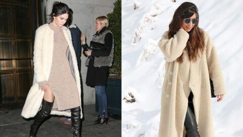 Le shopping de Marieluvpink: on craque pour le manteau Fluffy de Kendall Jenner