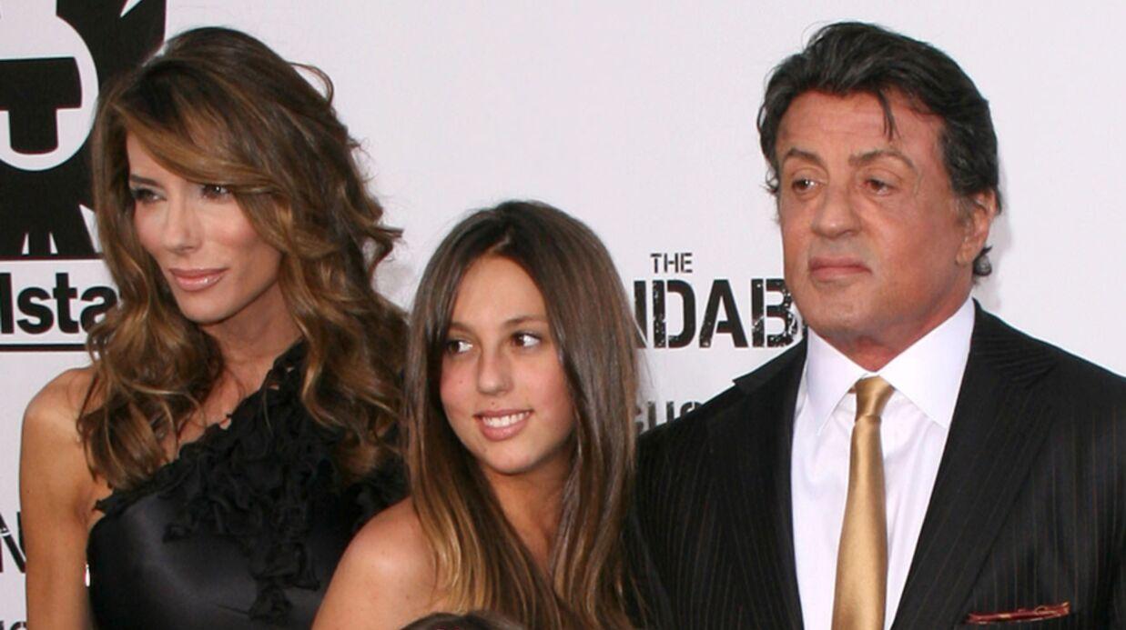 Sylvester Stallone: sa fille de 16 ans va subir une lourde opération